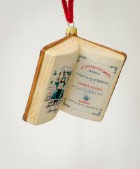 a carol book ornament by vaillancourt folk