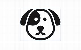 how to draw dog face vector in autodesk graphic ว ธ วาดเวกเตอร