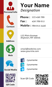 Social Network Business Card Design Personal Social Media Business Card By Graphixdesigner