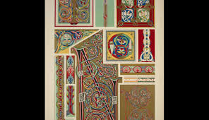 ornament illuminated manuscripts no 1 portions of