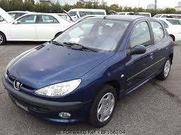 blue peugeot for sale used 2003 peugeot 206 style gh t1kfw for sale bf106204 be forward