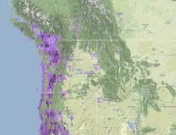 Hummingbird Map Birding Is Fun Anna U0027s Hummingbirds Wintering In Idaho