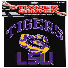 lsu alumni sticker lsu decals lsu tigers stickers lsu clings
