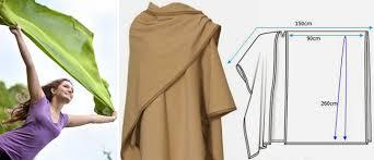 make an easy shawl wrap