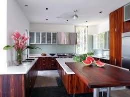 wooden kitchen countertops cost white tile backsplash beige mini
