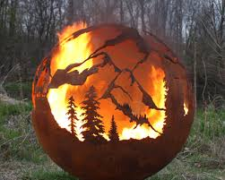 Sphere Fire Pit by Fabfirepits Com Announces New Fabulous Fire Spheres From Fire Pit