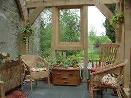 Sunroom Furniture Uk Rustic Porch Wood U0026 Beam Decor Awesome Cream Conservatory Decor