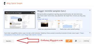 cara membuat blog yang gratis cara mudah membuat blog gratis di blogspot