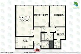 Floor Plan For 600 Sq Ft Apartment by Abu Dhabi Plaza Complex City Office Apartment Rent Sale