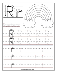 printable letter tracing worksheets free printable worksheet letter r for your child to learn and write