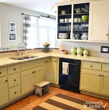 how to update and refinish oak kitchen cabinets pastel wall paint