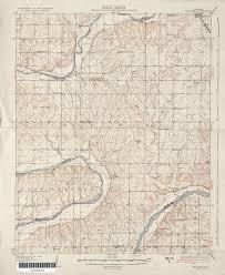 Oklahoma State Map Oklahoma Historical Topographic Maps Perry Castañeda Map