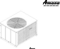 amana electric heater package heat pump user guide manualsonline com