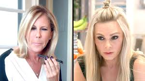 watch vicki asks tamra to meet with her one on one the real