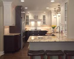 two tone kitchen cabinets and island two tone kitchen cabinets a concept still in trend
