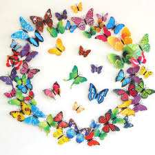 removable wall stickers 3d cartoon butterfly decorated 12 pices removable wall stickers 3d cartoon butterfly decorated 12 pices living room decor butterfly wall decals in wall stickers from home garden on