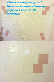 Best Product To Clean Bathroom Tile The Fastest Way To Clean Your Shower Bathtub Power Washing