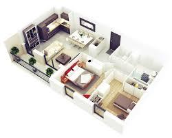 20 more 2 bedroom 3d floor plans maison pinterest bedrooms