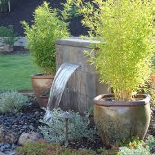 backyard water features ideas best 25 large outdoor fountains
