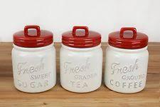 kitchen ceramic canister sets jar canister set ebay
