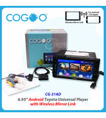 mirror link android 6 95 android toyota universal player with wireless mirror link