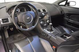 aston martin cars interior 2009 aston martin v8 vantage stock 7104 for sale near greenwich