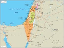 Biblical Maps Israel Maps Maps Of Israel Israel Maps Perrycastañeda Map