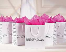 bridesmaid favors bridesmaid gift bag etsy