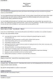exles of social work resumes social work sle resume this sle daycare worker resume social work