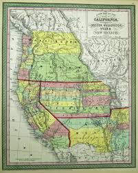Map Of Nevada And Utah by Antique Maps Of New Mexico