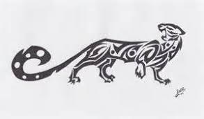 tribal jaguar design exle by callistacat on deviantart