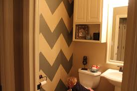 Chevron Bathroom Decor by My Precious Family Chevron Bathroom