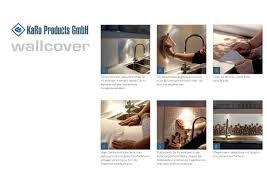spritzschutzfolie küche tapetenjoe schöner wohnen mit individuellen tapeten folien