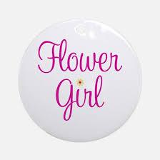 flower girl ornament flower girl christmas ornament cafepress