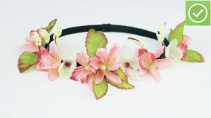 flower headbands how to make a flower headband 6 steps with pictures wikihow