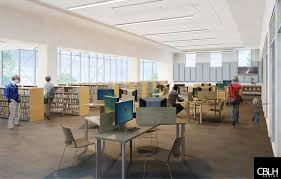Interior Design Library by University Heights Branch Renovation Heights Libraries