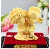 wedding gift gold 24k gold gift store small orders online store hot selling