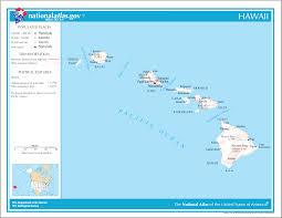 Map Of Hawaii Big Island Hana Hawaiian Islands Maui Worlds Best Beach Towns