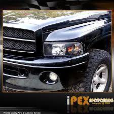 2001 dodge ram 2500 headlight assembly black 1994 2001 dodge ram 1500 2500 3500 headlights w corner