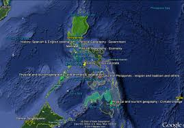 Map Of Phillipines The Tourism Map Of Philippines Italy Geography