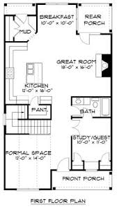 Tudor Floor Plan House Plan 53837 Bungalow Craftsman Tudor Plan With 2258 Sq Ft