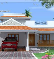 Kerala Style 3 Bedroom Single Floor House Plans House Plan 1155 Sq Ft Kerala Home Single Floor 3 Bedroom House