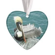 brown pelican ornaments keepsake ornaments zazzle
