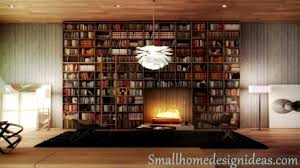 modern home library design ideas youtube