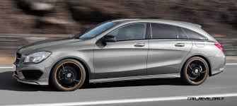 2016 mercedes benz cla250 shooting brake revealed for euro markets