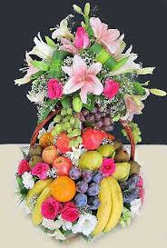 fruit flowers baskets send special fruit basket to dubai uae by flowers dubai uae