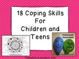 18 easy coping skills for kids for and home coping skills