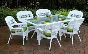 Wicker Look Patio Furniture by White Wicker Patio Furniture 9 Best Dining Room Furniture Sets