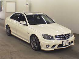 used mercedes c63 amg 2009 mercedes c class c63 amg japanese used cars auction