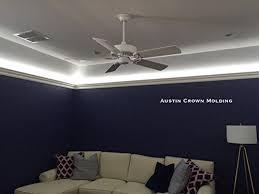 ceiling fan crown molding amazon com 64 ft of 3 5 angelo foam crown molding room kit w